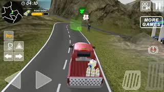 Milk Van Truck Delivery Simulator | Street Vehicles & Cars for Kids Game Play screenshot 5