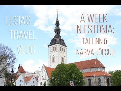 My Trip to Estonia: Tallinn & Narva Vlog