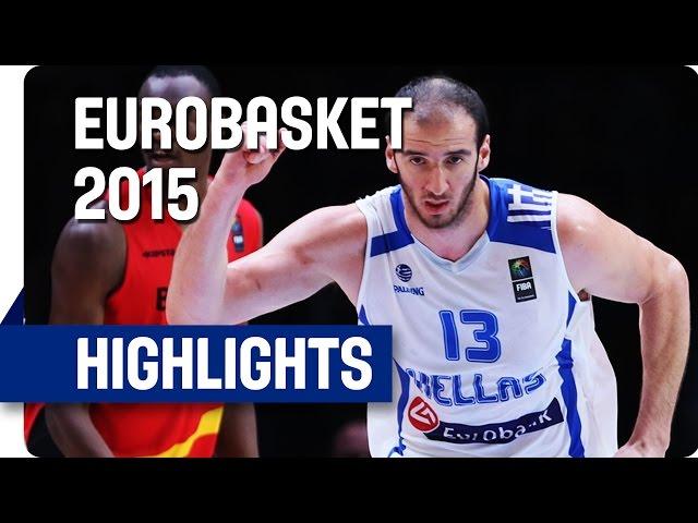 Ευρωμπάσκετ 2015 |  Ελλάδα-Βέλγιο 75-54 🏀 Video με στιγμιότυπα του αγώνα, η συνέντευξη τύπου και οι δηλώσεις μετά τη νίκη