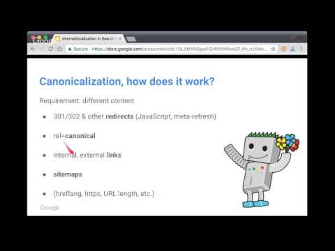 English Internationalization Google Webmaster Central office-hours hangout