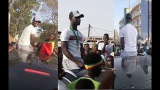 Moussa Konaté accueilli en liesse à Mbour