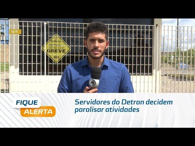 Servidores do Detran decidem paralisar atividades todas as quarta-feiras