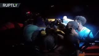 Humanitarian ship Aquarius rescues 629 refugees off Libyan coast as Italy shuts ports
