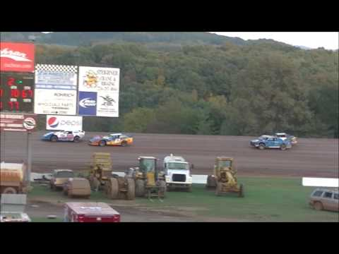 @Lernerville Sportsman/Stock B-Main 2 October 15, 2016