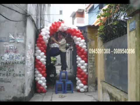 nhận kết cổng bong bóng --phông cưới-0945091368-0989540896.wmv