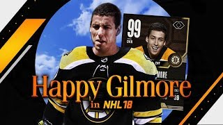 NHL 18 - WHAT IF HAPPY GILMORE MADE THE NHL?