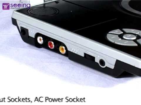 Venturer 10 Inch Portable DVD USB SD - Seeing Is Buying