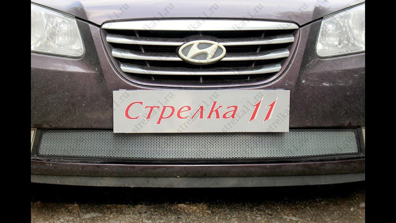установка парктроника своими руками hyundai elantra4