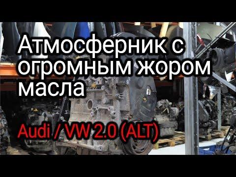 Фото к видео: 5 клапанов на цилиндр и масложор: что не так с двигателем Audi / VW 2.0 (ALT)?