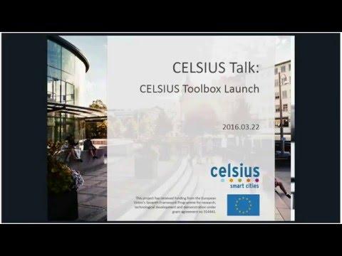 CELSIUS Talk: CELSIUS Toolbox Launch