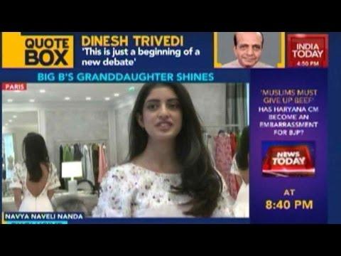 Big B's Granddaughter Navya Naveli Nanda Invited To Paris Debutante Ball