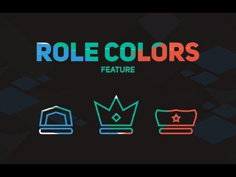Discord Rainbow Role Bot Update!