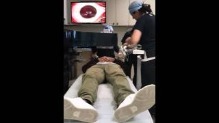 Lasik eye surgery with step by step narration