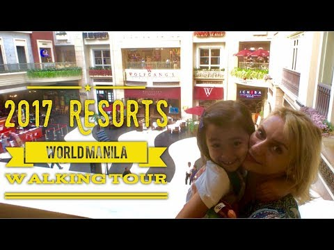 2017 Resorts World Manila Reopen Newport Mall Walking Tour Official by HourPhilippines.com