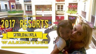 Gambar cover 2017 Resorts World Manila Reopen Newport Mall Walking Tour Official by HourPhilippines.com