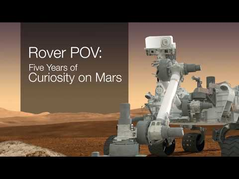 Curiosity Makes a Five Year Drive on Mars | Video