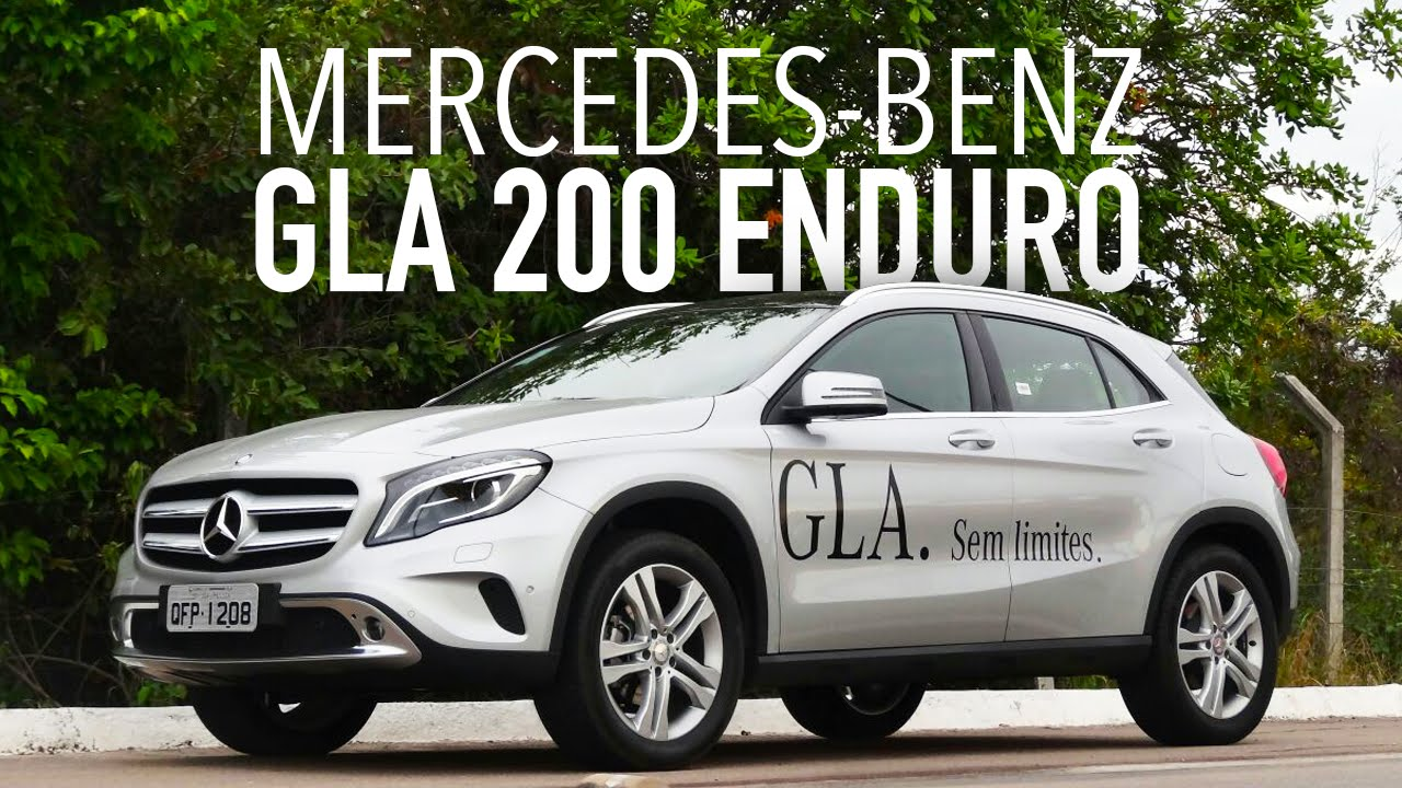 avalia o com o mercedes benz gla 200 enduro youtube. Black Bedroom Furniture Sets. Home Design Ideas