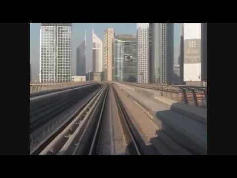 My first Metro ride - My Dubai complete Metro Ride around the city