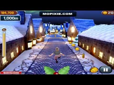 Free Online Angry Gran Run Games - Angry Gran Run Christmas Village