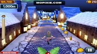 Free Online Angry Gran Run Games - Angry Gran Run Christmas Village