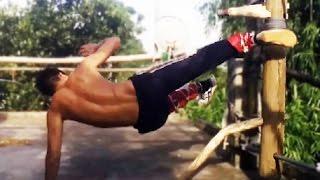 108 Thế Cước Thiếu Lâm ( phần 4 ) - Hướng Dẫn Tự Học Với Mộc Nhân - 108 Kick Shaolin Temple