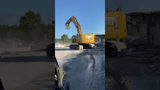 Video still for Atlantic Coast Dismantling Razes Former Raytheon Plant in Massachusetts