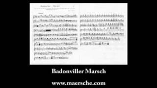 Badonviller Marsch