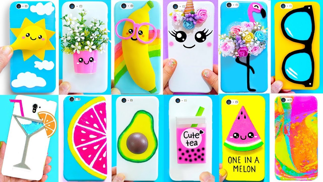 20 Diy Phone Cases Summer Inspired Easy Cute Phone Projects