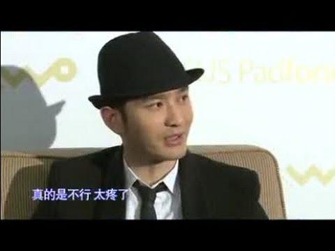 Huang Xiaoming Interview at ASUS Padfone Launch 25 April 2013 | 我的首页 新浪微博随时随地分享身边的新鲜事儿