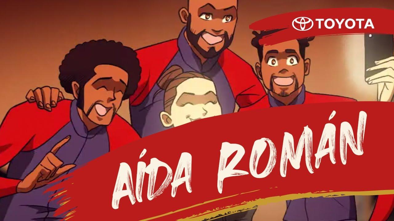 Toyota Team MX - Aída Román y los vecinos de la villa olímpica