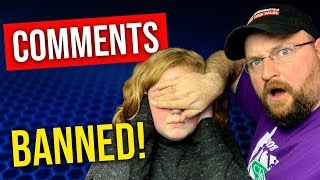 YouTube BANS Comments On Kid Videos!