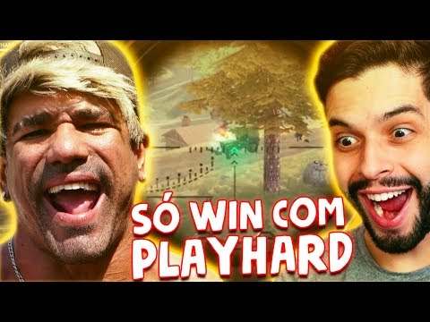 SÓ WIN COM PLAYHARD NO FREE FIRE