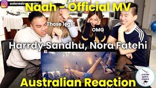 Naah - Harrdy Sandhu Feat. Nora Fatehi   Official Music Video   Asian Australian Reaction Video