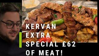 KERVAN EXTRA SPECIAL PLATTER £62 Kebab Killer Ep: 19