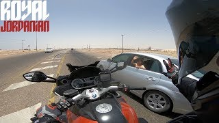 Tour with RJ - Muscat to Duqm on a BMW K1600 GT