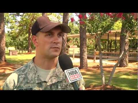 Sergeant First Class Jason Parker - United States Army Marksmanship Unit