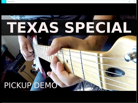 Fender Telecaster -Texas Special  Pickup Demo!