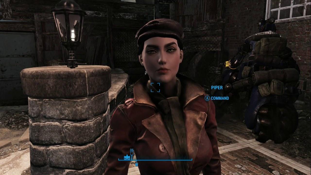 Fallout 4 Loving Piper