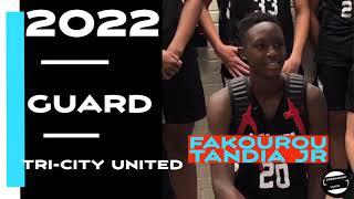 Fakourou Tandia Jr 1 Minute 2021 Highlights #basketball