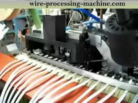hqdefault ac wire fully automatic crimping machine www cablecutting komax wire harness machines at bakdesigns.co