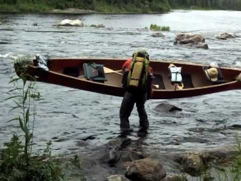 How to Portage a canoe