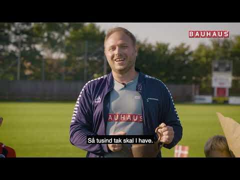 BAUHAUS-Prisen til Årets Fodboldskoletræner går til...