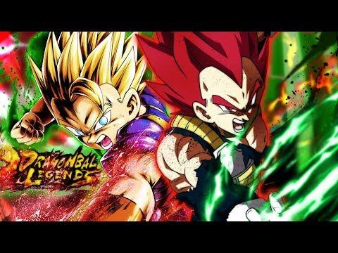 SSJ GOD VEGETA + SSJ CABBA INVINCIBLE DUO!   Dragon Ball Legends