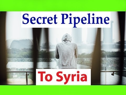 Secret Pipeline to Syria People and Power || muslims In World and Islam