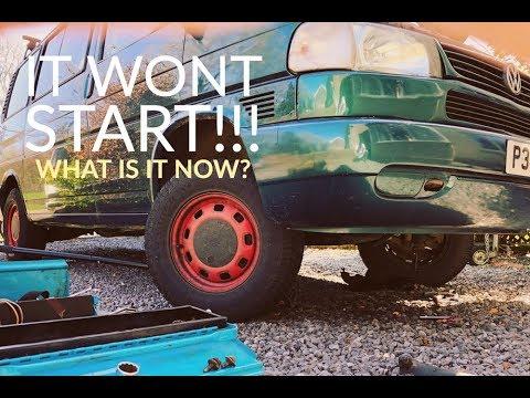 It wont START - VW T4 Starter Motor??