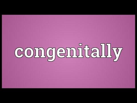 Header of congenitally