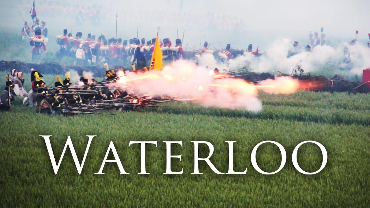 Bildergebnis für waterloo reenactment