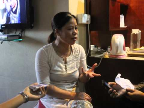 Interview with MC Mary Kom