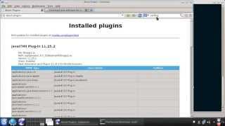 Java Plugin installation on Linux