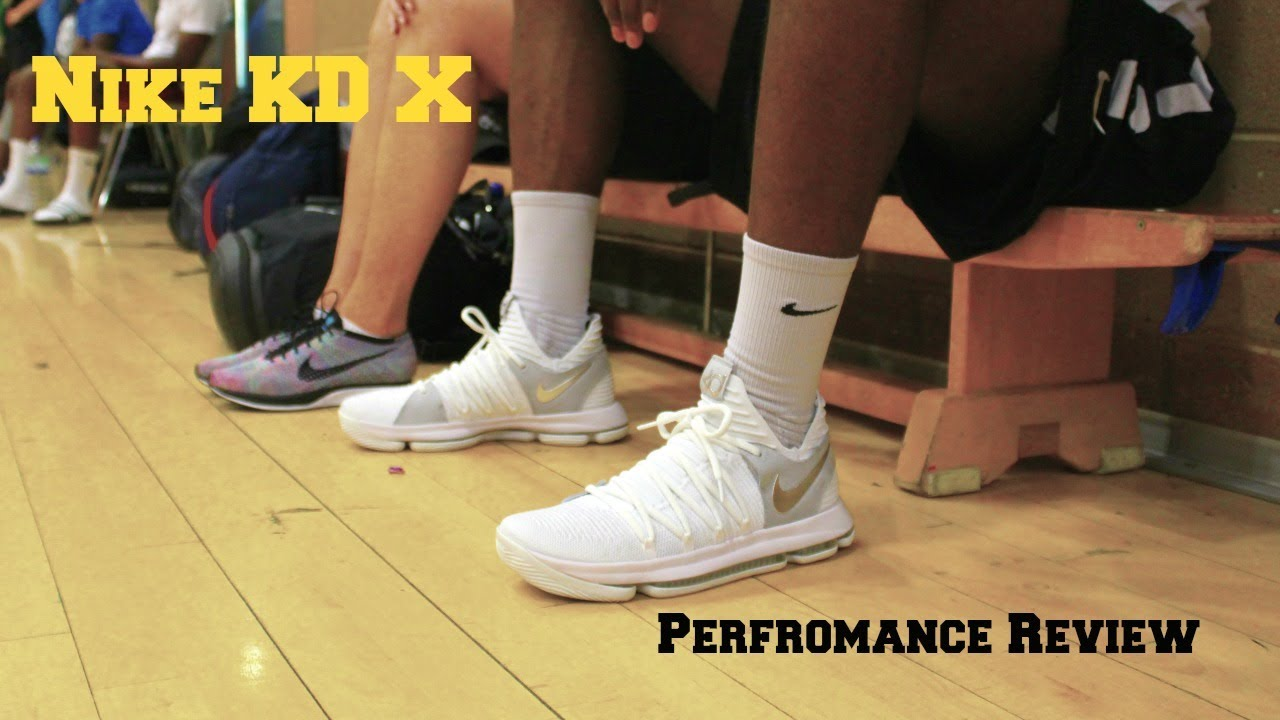 682b739ee743a Nike KD 10 Performance Review - YouTube